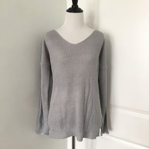 ASOS Sweaters - Asos Lace Up Back Sweater 818a4ad57